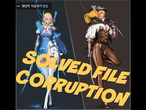 [SOLVED] Black Desert's - Corrupt File Error