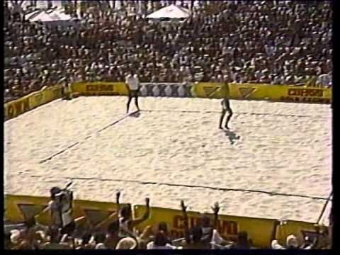 AVP Volleyball 1993 Clearwater Final