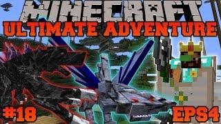 Minecraft: Ultimate Adventure - MOTHRA AND BASILISK MAZE! - EPS4 Ep. 18 - Let