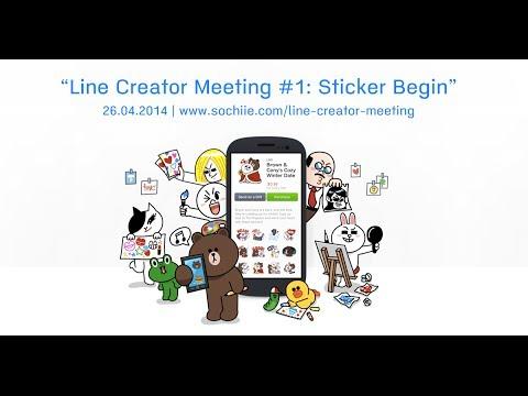"""LINE Creator Meeting #1: """"เริ่มต้นทำ LINE Sticker"""" (Sticker Begins)"""