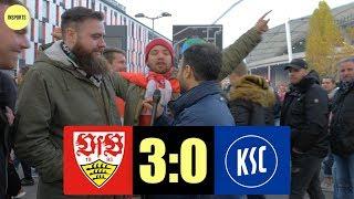 VfB STUTTGART VS KARLSRUHER SC │DIE CANNSTATTER HOLEN SICH DEN DERBY-SIEG