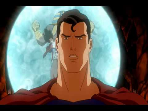 Superman vs Ultra-Sphinx