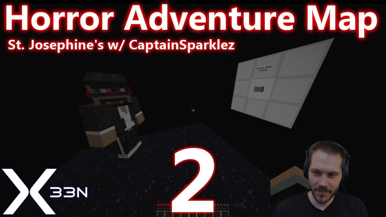 Minecraft: St. Josephine's w/ CaptainSparklez   PART 2   Horror