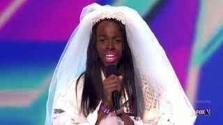 Qualtrel, x factor funny auditions 2012 USA, Qua Trel hahahaha
