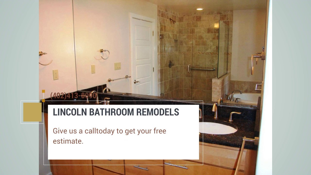 bathroom remodel lincoln ne - youtube