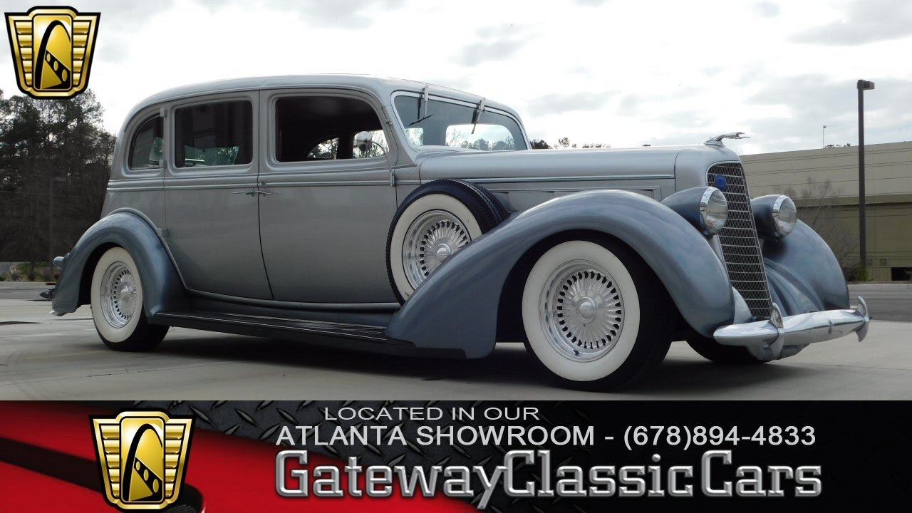 1936 Lincoln Limousine Gateway Classic Cars Of Atlanta 141 Youtube