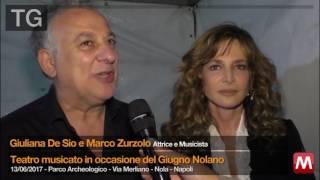 TG 13/06/2017 Giuliana De Sio e Marco Zurzolo