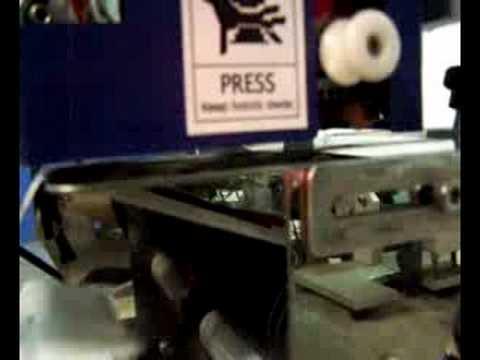 DC-1 Label Dispenser with Hot-Stamp Coder