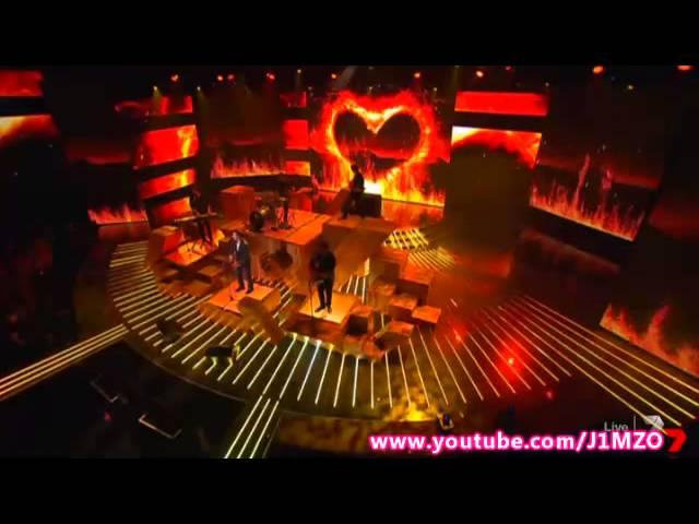 James Blunt – Bonfire Heart (Live) – Week 6 – Live Decider 6 – The X Factor Australia 2013