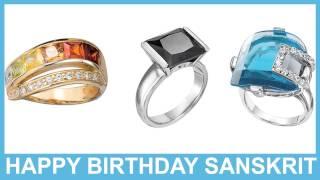 Sanskrit   Jewelry & Joyas - Happy Birthday