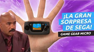 SEGA presenta Game Gear Micro - ¡Menuda sorpresa de consola!