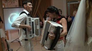 Свадьба: Танцы под аккордеон (Часть вторая)