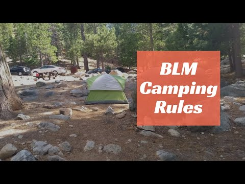 BLM Camping Rules That You Need To Know!