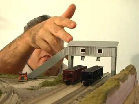 Model Railroad Coal Mine, How To Make An N Scale Coal Loader! Save $$
