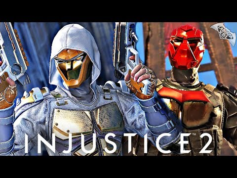 Injustice 2 Online - THE LEGENDARY GOLD HOOD!