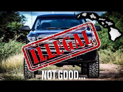 This Silverado is ILLEGAL...  Hawaii Hates My Truck! Mp3