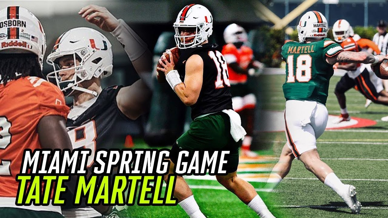 Tate Martell finally gets first chance for Miami football team