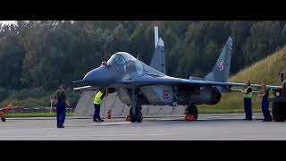 22BLT MiG-29 Engine startup and taxiing