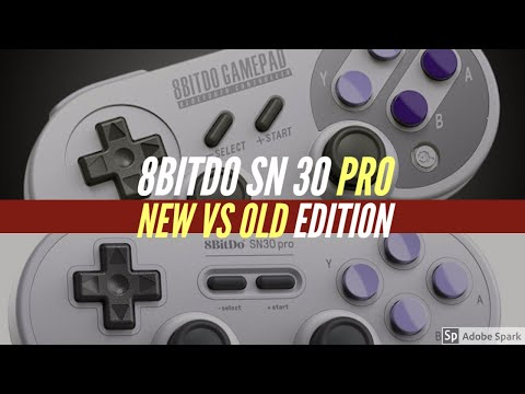 8bitdo SN30 Pro New version vs Old version | Which is better?