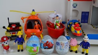 Fireman Sam Easter Surprise Eggs Feuerwehrmann Sam