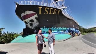 Isery, El Barco Pirata en Santos Guardiola, Roatan