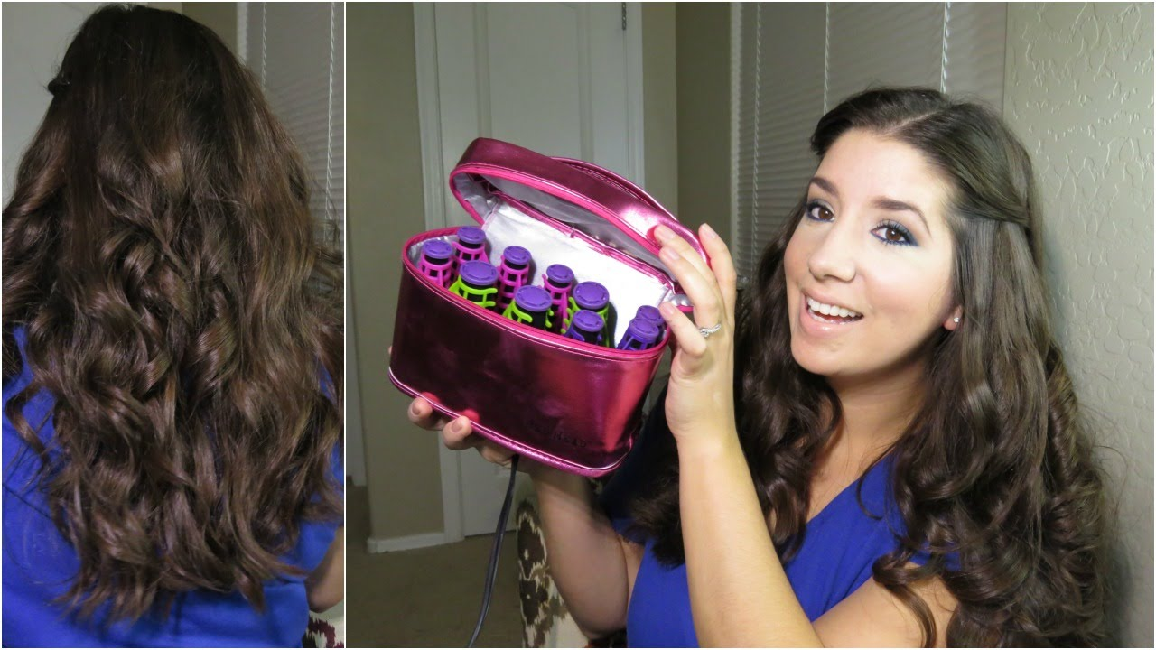 bed head tigi 'on a roll' tousled curls hair review & tutorial