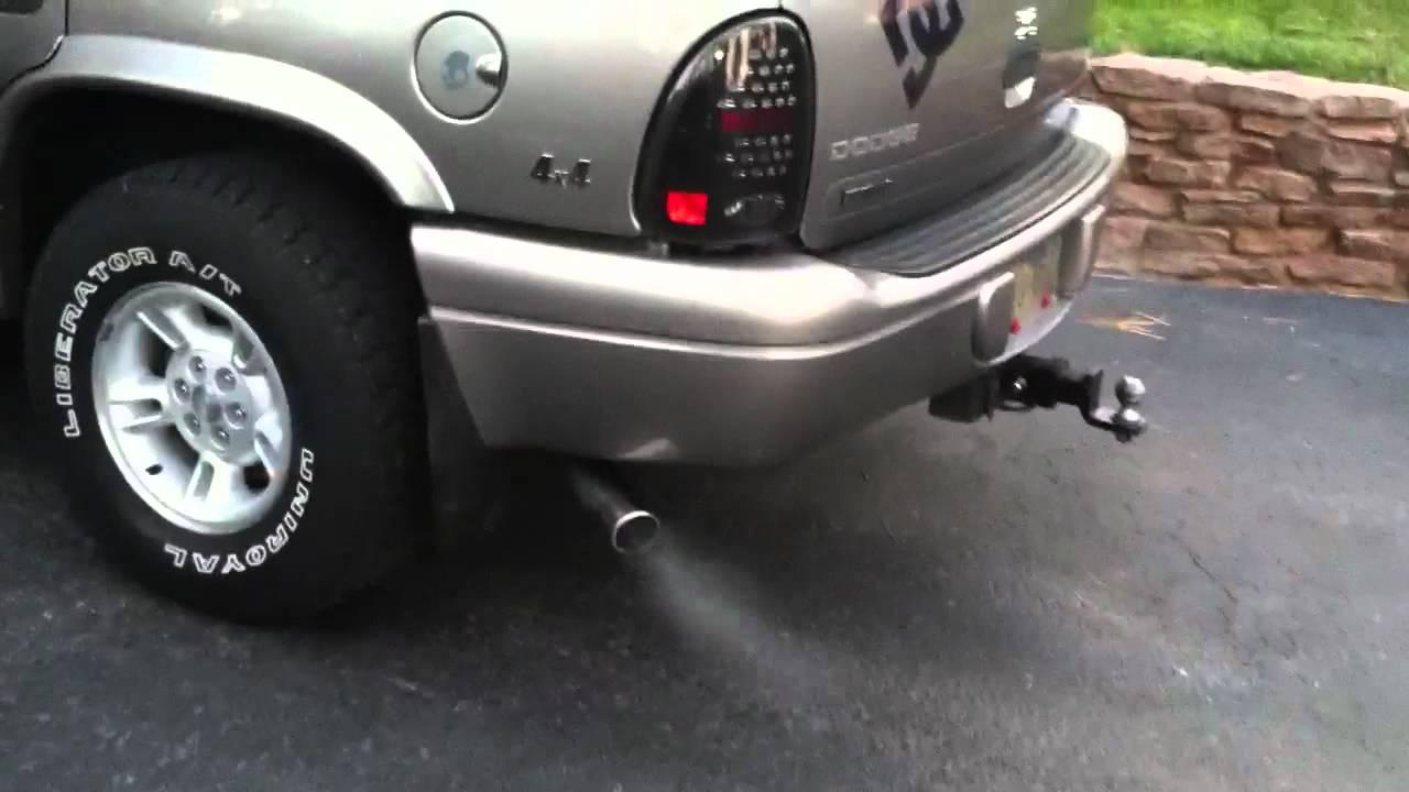 1999 dodge durango with dual exhaust [ 1280 x 720 Pixel ]