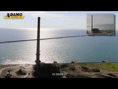 Adamo Group DTE Energy coal-fired electric generation plant in Harbor Beach MI