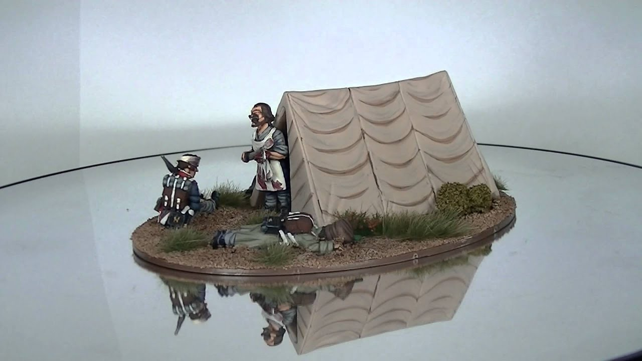 28mm Front Rank Napoleonic French Tent Diorama