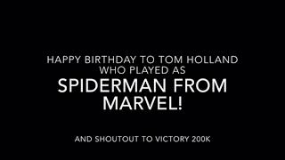 Happy Birthday Tom Holland!
