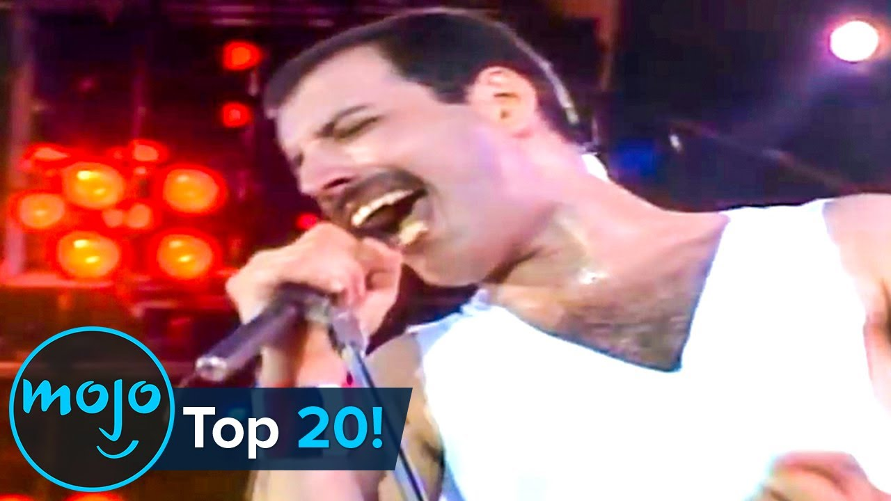 Top 20 Greatest Queen Songs of All Time