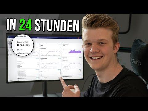 So habe ich 11.746,69€ in 24 Stunden mit EINEM Shopify Dropshipping Produkt gemacht! thumbnail