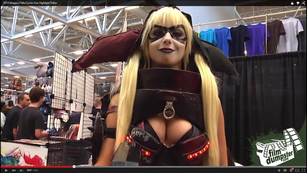 2015 Niagara Falls Comic Con Highlight Video Youtube