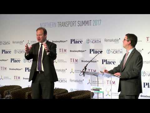 Jesse Norman MP, Department for Transport - Northern Transport Summit