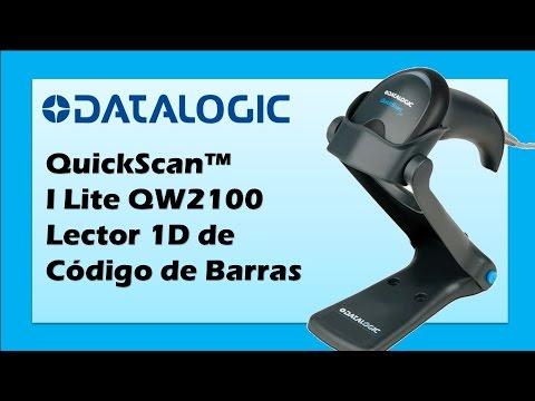 64024d486 Datalogic QuickScan™ I Lite QW2100 Lector de Código de Barras con Base