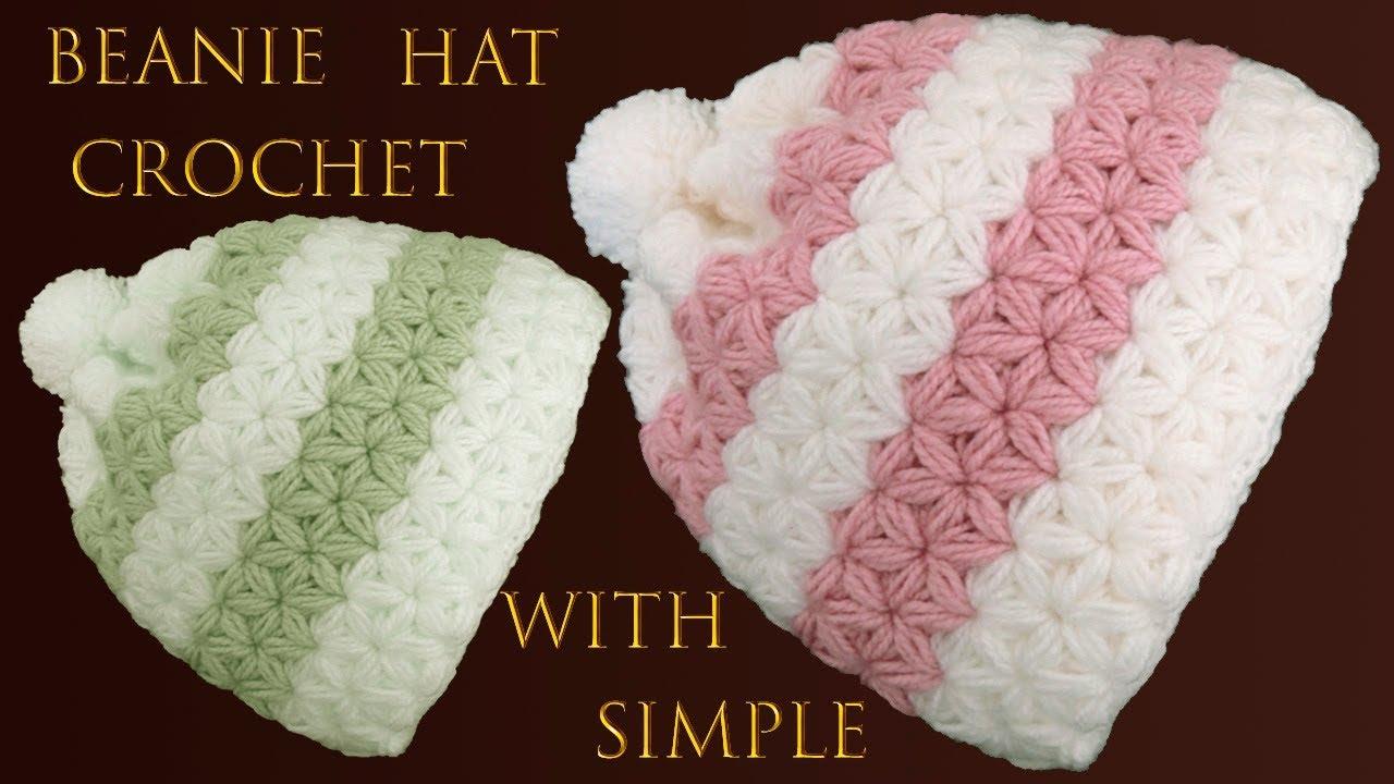 Crochet Jasmine Stitch Hat Crochet Ideas