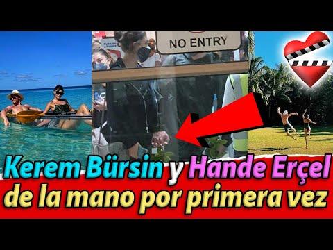 Kerem Bürsin Y Hande Erçel Tomados De La Mano Confirman Su Relación.