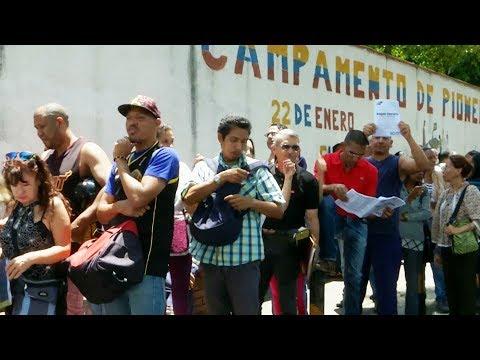 Venezuelan opposition hold symbolic vote to pressure President Maduro