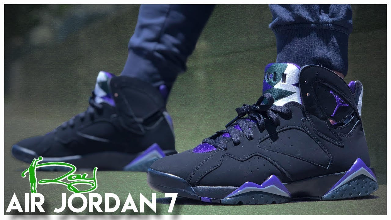 new concept 4d1dd 68d6d Air Jordan 7 Ray Allen PE