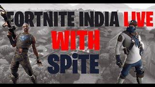 🔴Kya Fortnite Ke Din aa Chuke Hain ??? 🔴 // Use Code : spite // #Grindday18 // Fortnite INDIA
