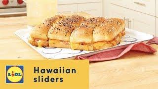 How to Make the Best Hawaiian Sliders 🏄‍♂️🧀🍞 | Summer Recipes | Lidl US