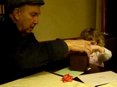 Giving grandpa a gift