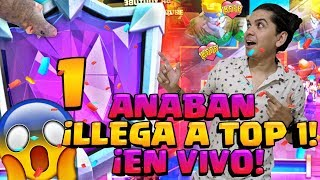 ASI LLEGA ANABAN AL TOP 1 MUNDIAL! 😱6400+ PRIMER CAMPEON DEFINITIVO DE TEMPORADA! CLASH ROYALE