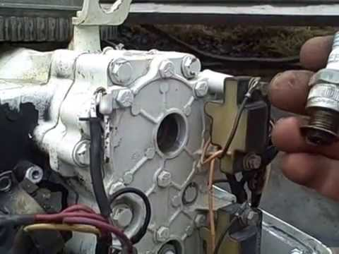 Johnson 50 HP found problem YouTube