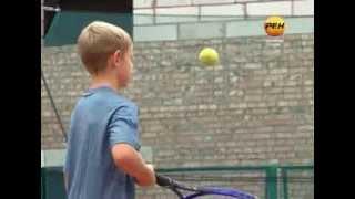 видео занятия большим теннисом для детей