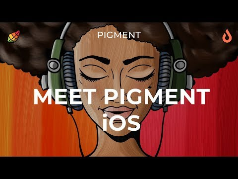 Pigment by Pixite. Say Hello to Pigment for iOS!