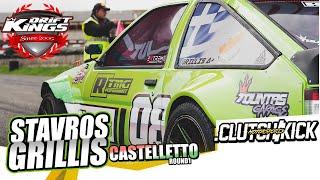 Stavros Grillis / Drift Kings International Castelletto 2019 / 650HP Turbo Toyota Corolla AE86