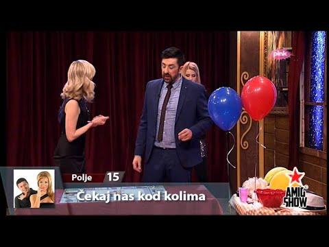 Ami G Show S07 - E19 - BLAmiG trka - Jelena Rozga