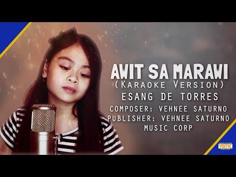 Esang De Torres - Awit Sa Marawi (Official Instrumental)