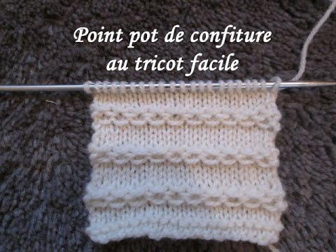 tuto point chainette ou confiture au tricot stitch knitting punto tejido dos agujas youtube. Black Bedroom Furniture Sets. Home Design Ideas